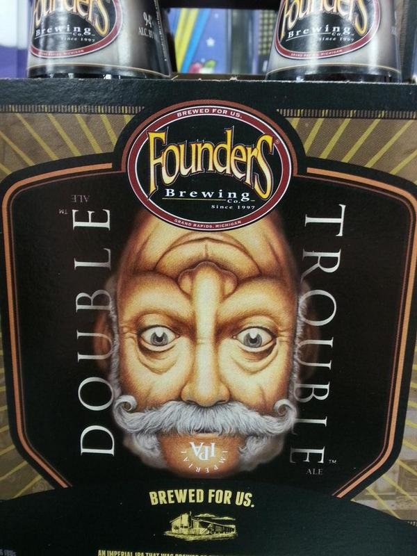 Cappy's: Some #DoubleTrouble left from @foundersbrewing del