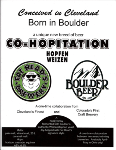Fat Head's & Boulder Brewing Collab Night @ Cappy's | Loveland | Ohio | United States