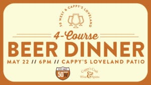 Fifty West Beer Dinner at Cappy's @ Cappy's | Loveland | Ohio | United States