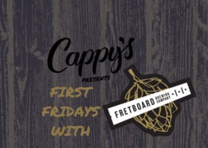 First Fridays with Fretboard at Cappy's @ Cappy's | Loveland | Ohio | United States