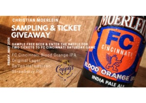 Christian Moerlein Sampling & FCC Ticket Giveaway @ Cappy's | Loveland | Ohio | United States