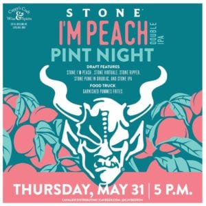 Stone Pint Night @ Cappy's | Loveland | Ohio | United States