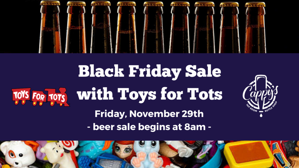 Black Friday Event with Toys for Tots