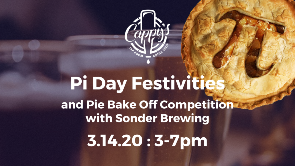 Pi Day Festivities with Sonder Brewing